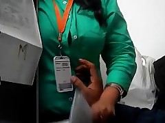 office sex : busty indian fucked